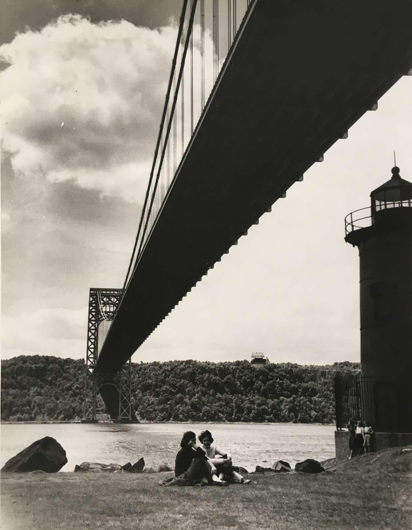 Nat Fein, George Washington Bridge, 1943 - Artwork 35714 | Jackson Fine Art