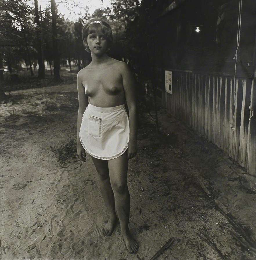 Girl with ball nude