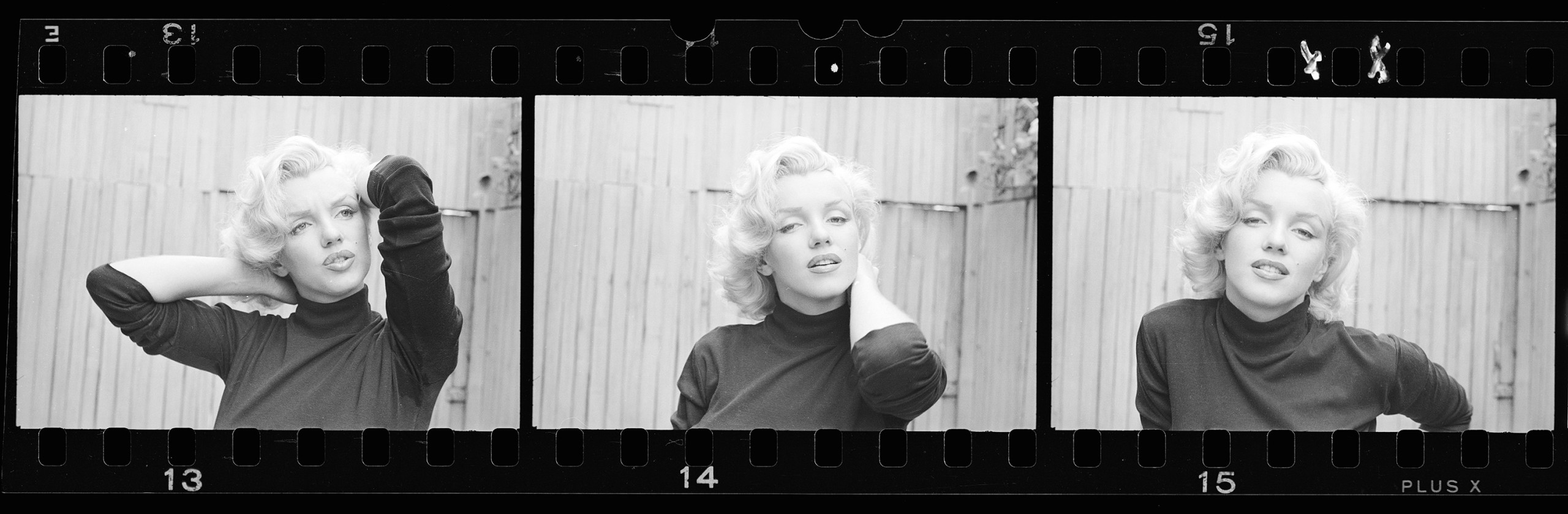Alfred Eisenstaedt, Three Frames of Marilyn Monroe, California Ref ...