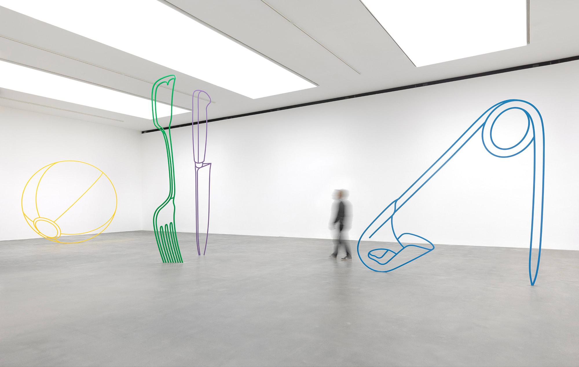 Michael Craig-Martin, Sculpture