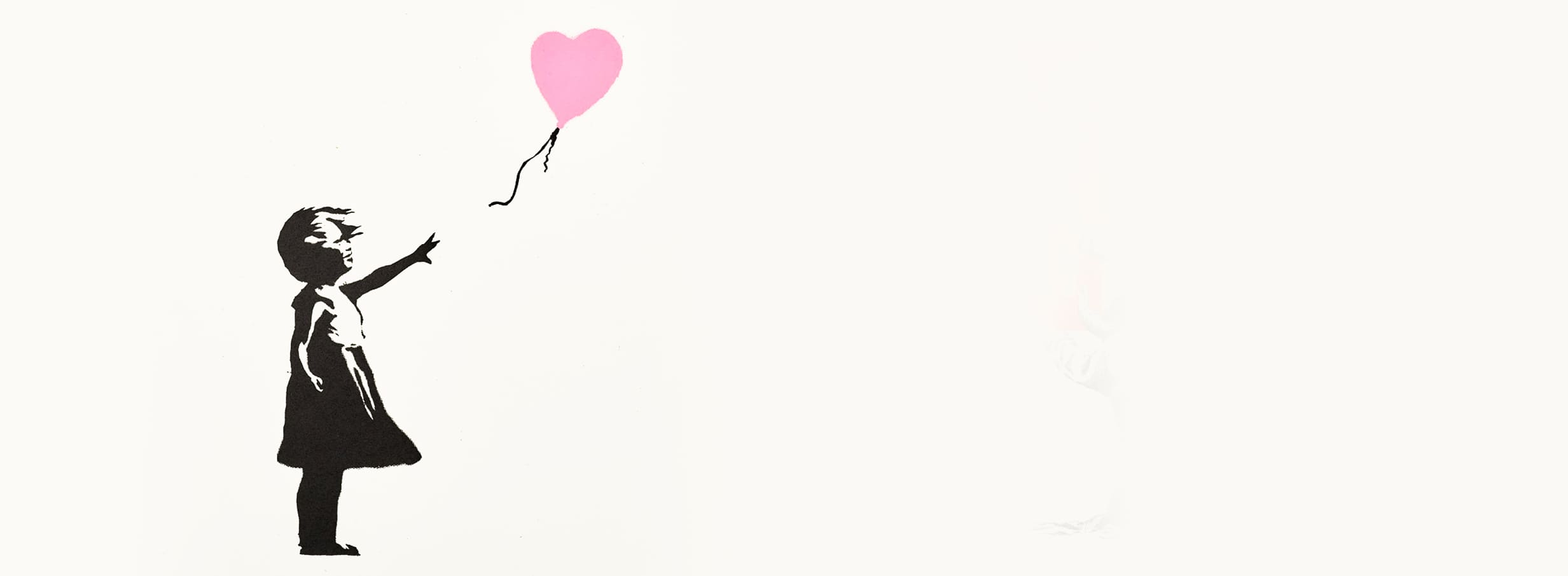 GIRL WITH BALLOON (PINK)