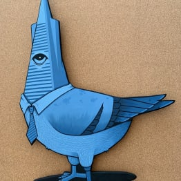 Jeremy Fish, Trans Am Pigeon, 2019