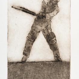 David Inshaw - Cricket Etchings
