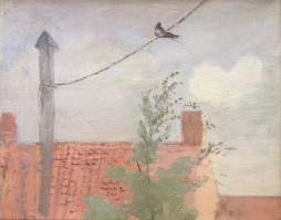 Swallow on a Wire, late 1930s