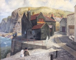 The Cod and Lobster, Staithes, 1934