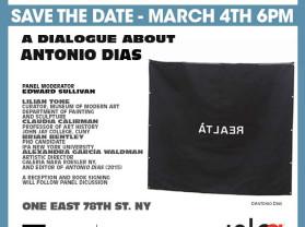 a dialogue about antonio dias