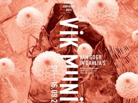 Vik Muniz – Van Gogh in dahlia's