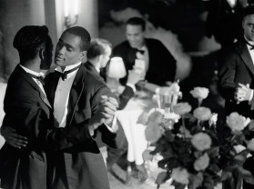 Isaac Julien Pas de Deux with Roses (Looking for Langston Vintage Series) 1989/2016. Image © Isaac Julien. Courtesy the artist and Victoria Miro, London
