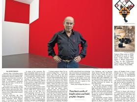 antonio dias, brazilian artist who poked the ruling junta, is dead at 74