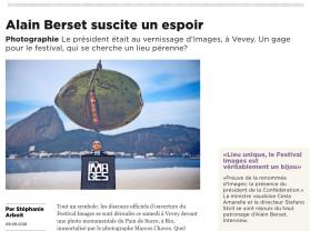 Alain Berset suscite un espoir