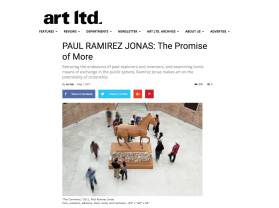 paul ramirez jonas: the promise of more
