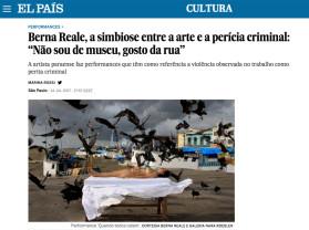 """berna reale, a simbiose entre a arte e a perícia criminal: """"não sou de museu, gosto da rua"""""""