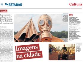 representante do brasil na 56 bienal de veneza, berna reale leva obras para as ruas