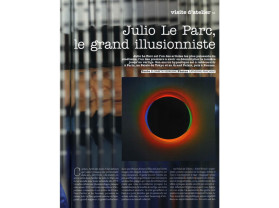julio le parc, le grand illusionniste