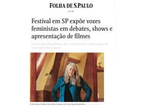 festival em sp expõe vozes feministas em debates, shows e apresentação de filmes