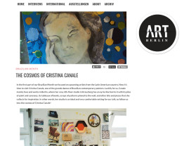 the cosmos of cristina canale