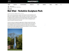 not vital | yorkshire sculpture park
