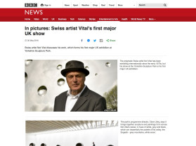 in pictures - swiss artist vital's first major uk show