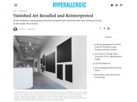 vanished art recalled and reinterpreted