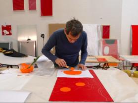 in the studio | carlito carvalhosa