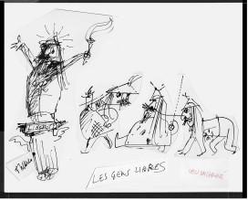 Les Gens Libres, Ubu Enchaine, 1970