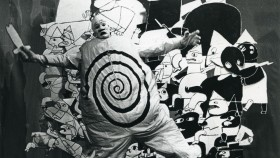 Ubu Roi fighting the Russian Army, 1964