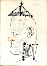 Head of Ubu, Copenhagen, 1972