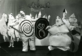 Kung Ubu by Alfred Jarry at Marionetteteatern, Stockholm, 1964