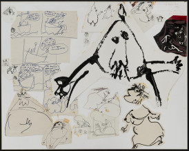 Père Ubu etc, Comic Strip Studies, 1969