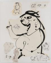 Mère Ubu Drawings, Ubu Comic, 1969