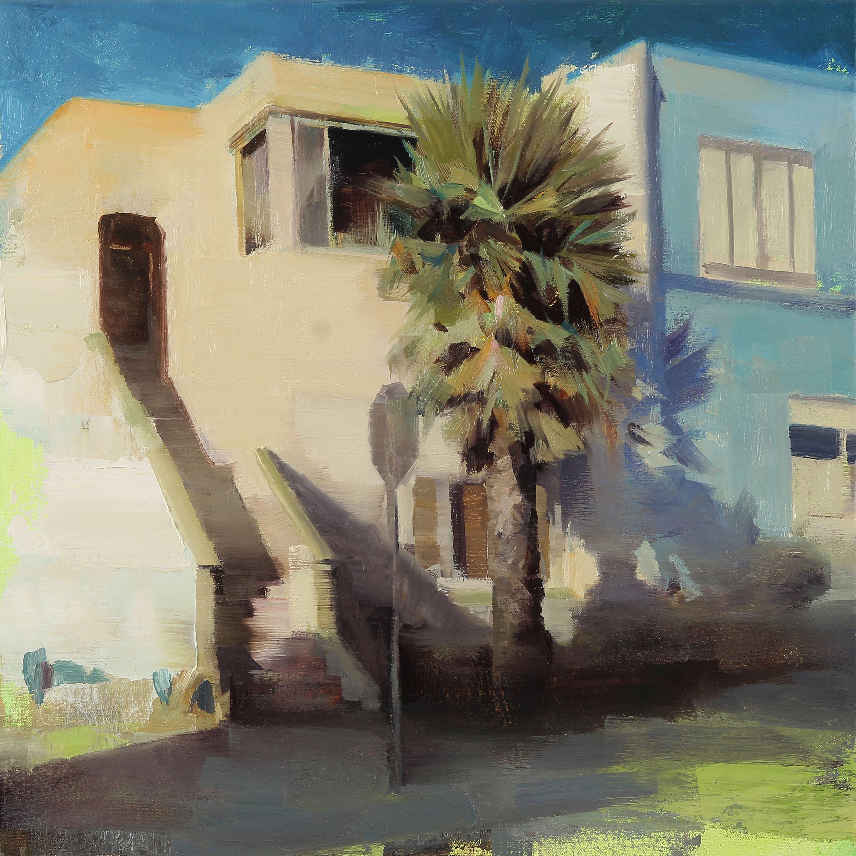 Kim Cogan  Ingleside, 2017  oil on canvas  18 x 18 in. 45.72 x 45.72 cm