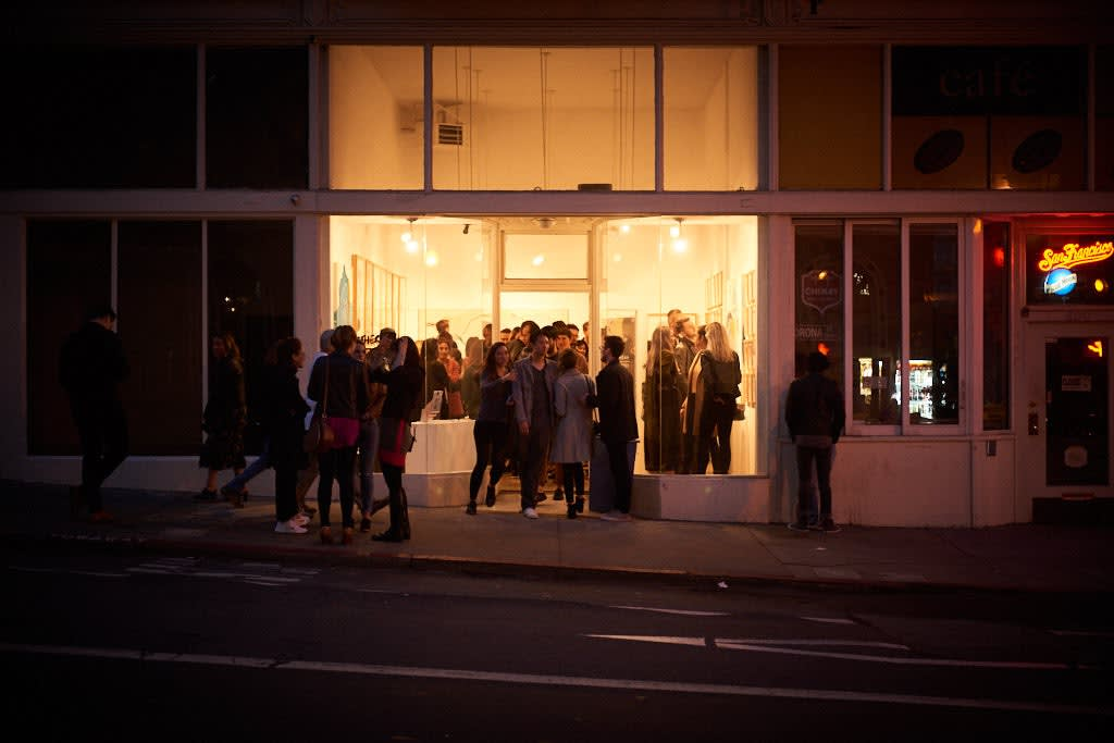 Exterior of Hashimoto Contemporary SF