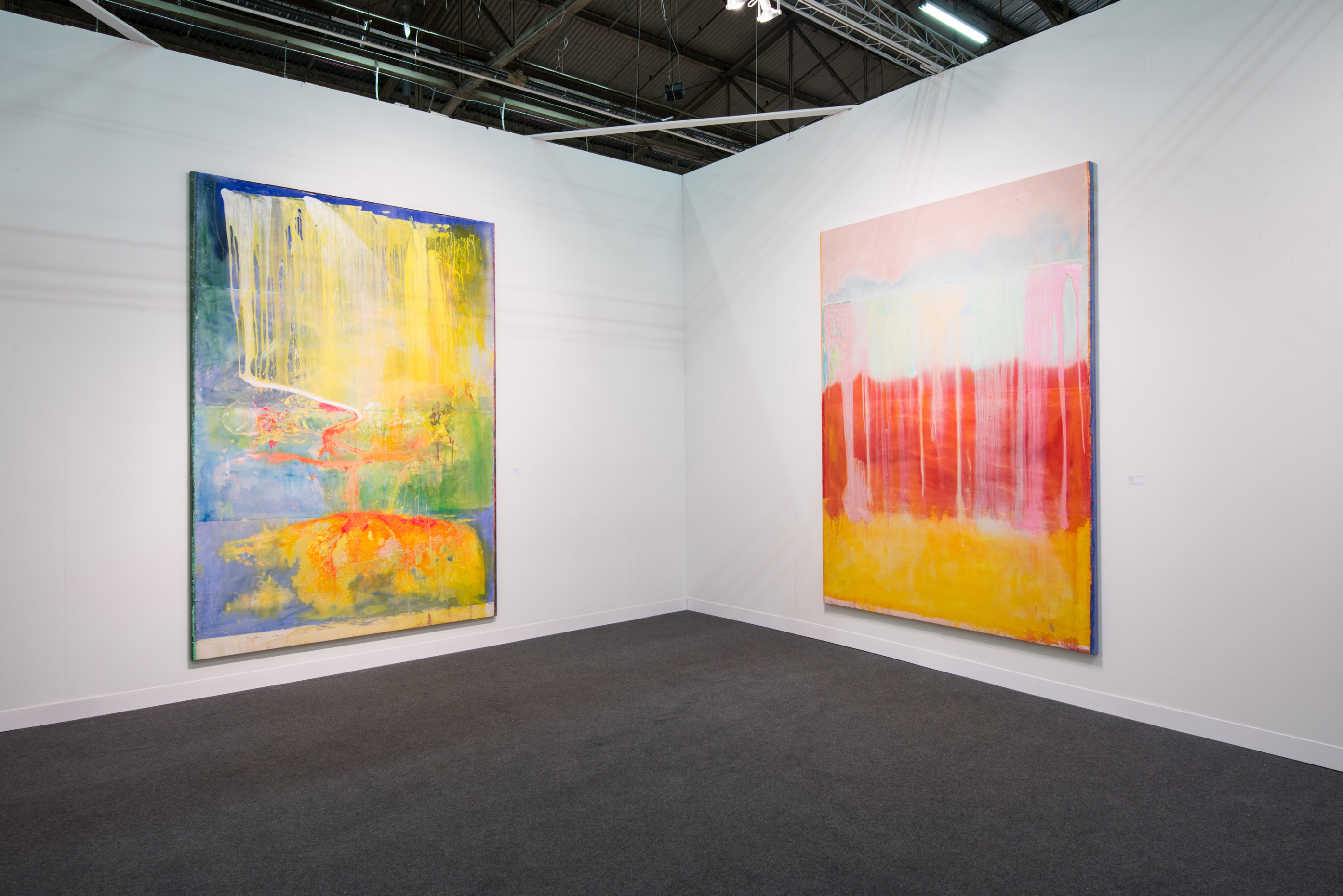 Installation view, Hales Gallery at The Armory Show 2016 | Pier 94 Booth 743, New York, 3 - 6 March 2016