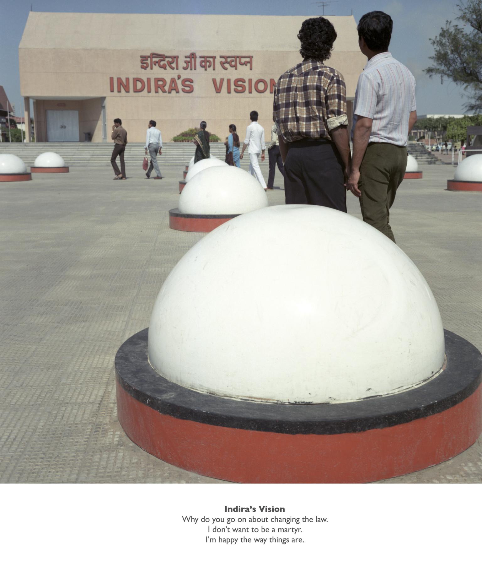 Indira's Vision, 1987