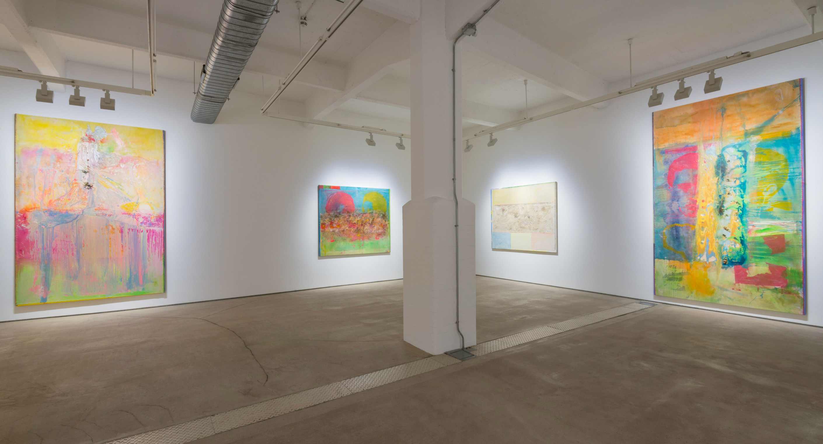 Installation view 'Fishes, Wishes in Summertime Blue', Hales London, 8 September - 28 October 2017