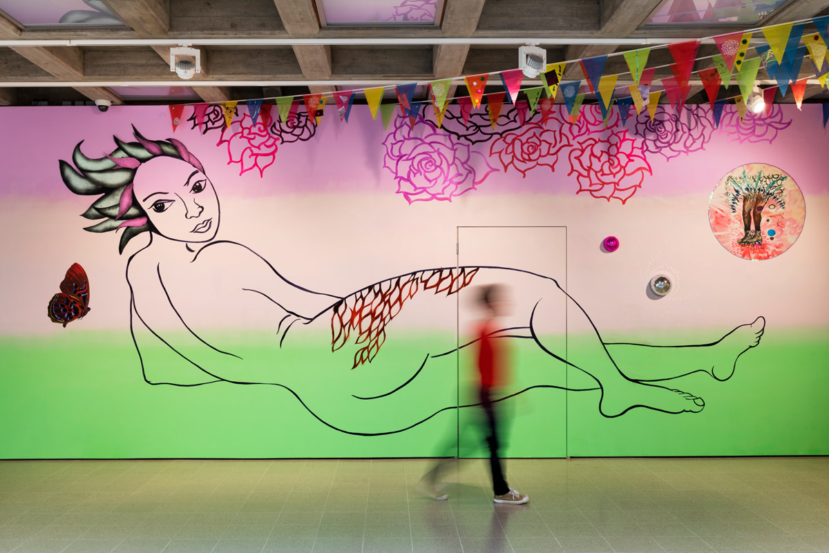 Installation view, 'At Her Dream's Edge' from 'Kiss My Genders' at Hayward Gallery, London, June 12 - September 8, 2019