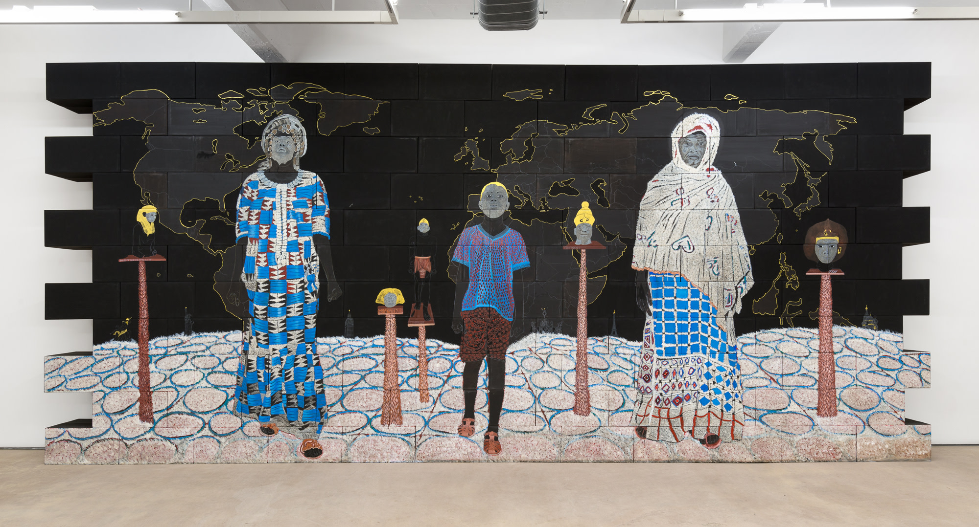 """Clin d'œil à Cheikh anta Diop-Un continent à la recherche de son histoire"""", 2017"""