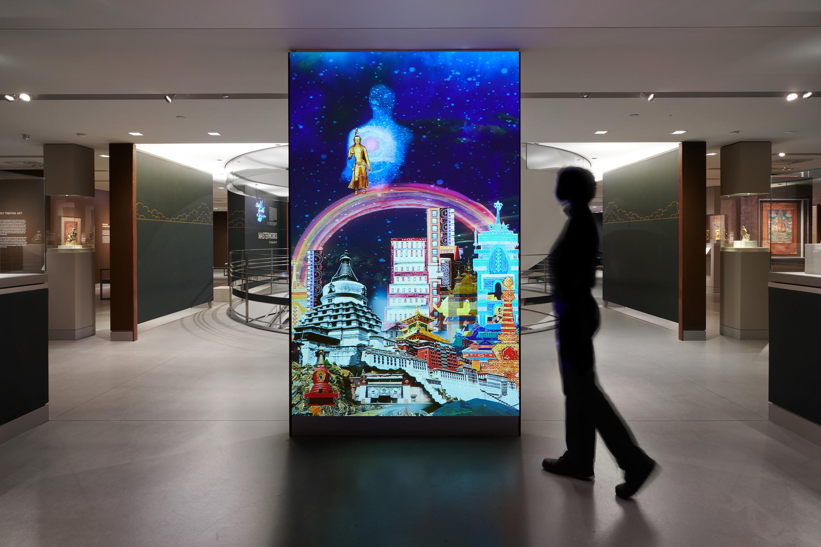 Installation view, 'Scorpion Gesture' at Rubin Museum of Art, New York, February 2 2018 — January 7 2019