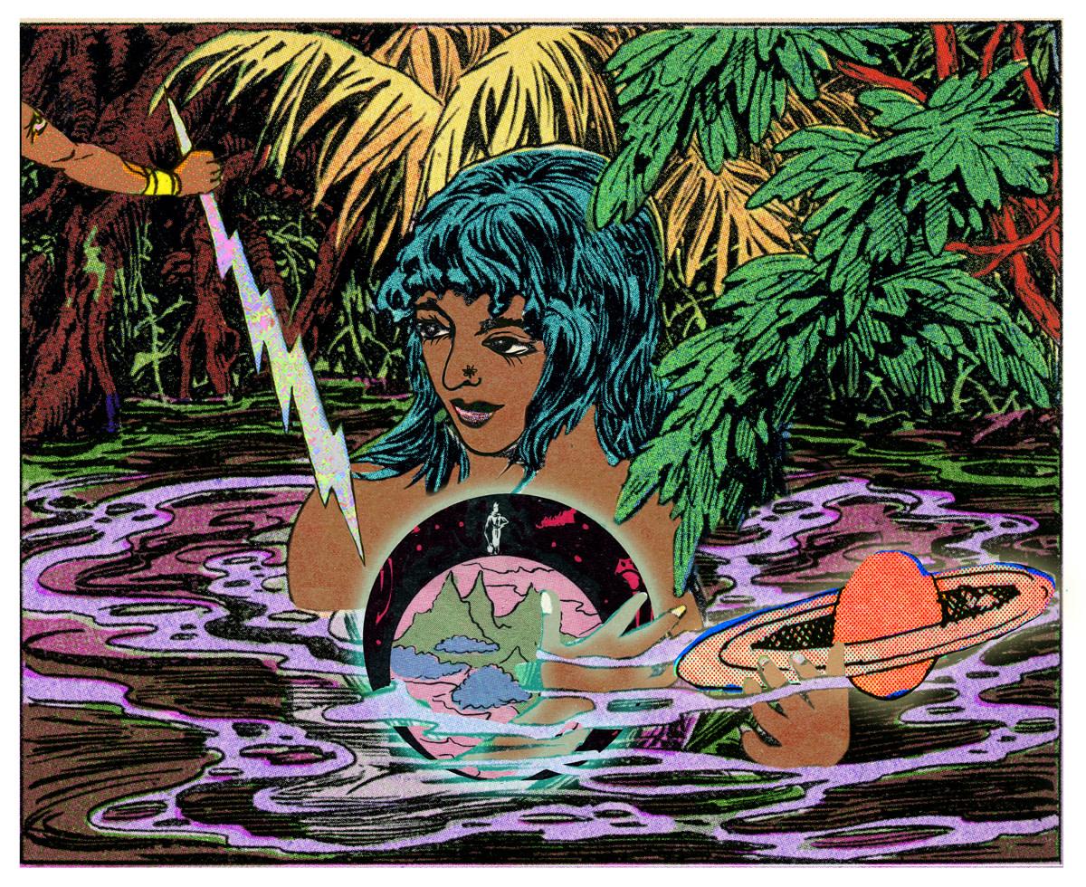 Girl, Water, Globe, 2016
