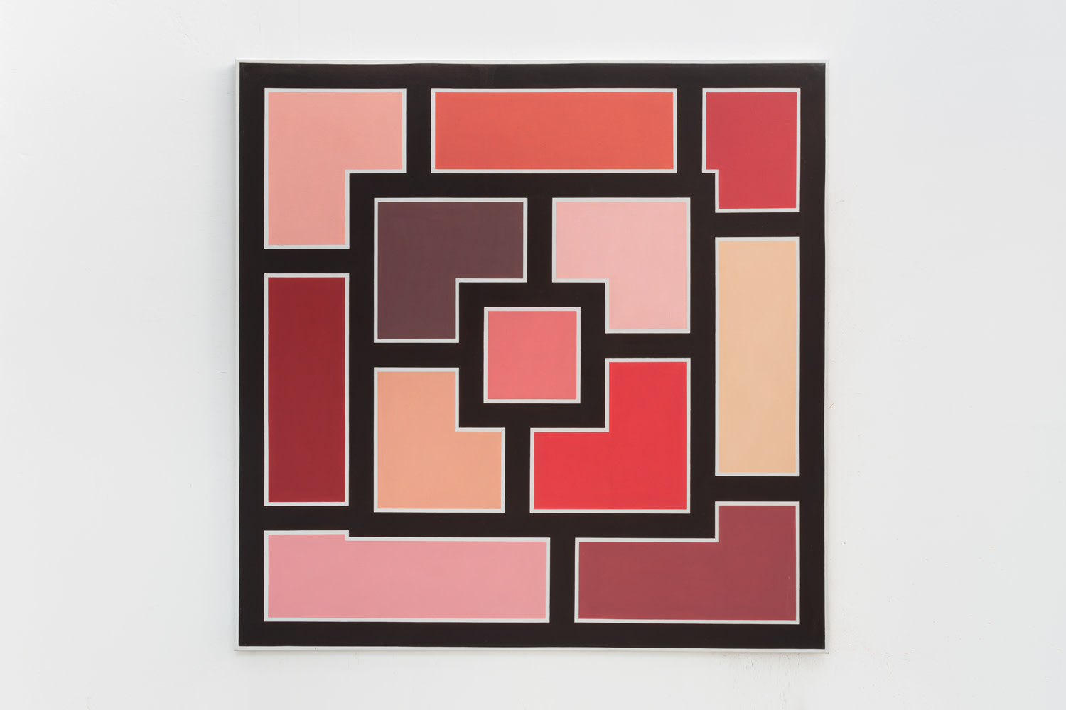 Brown, pinks, and grey, 1974