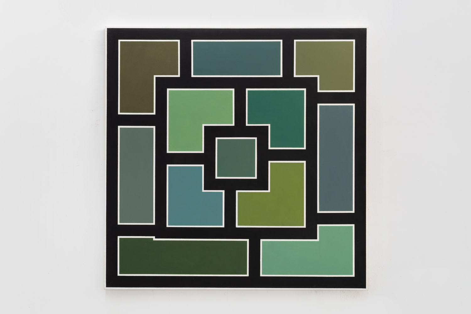 Greens, black and white, 1974