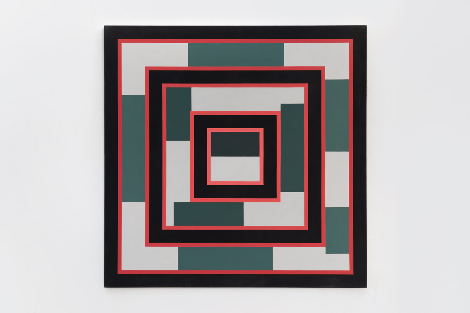 Red & Green I, 1973