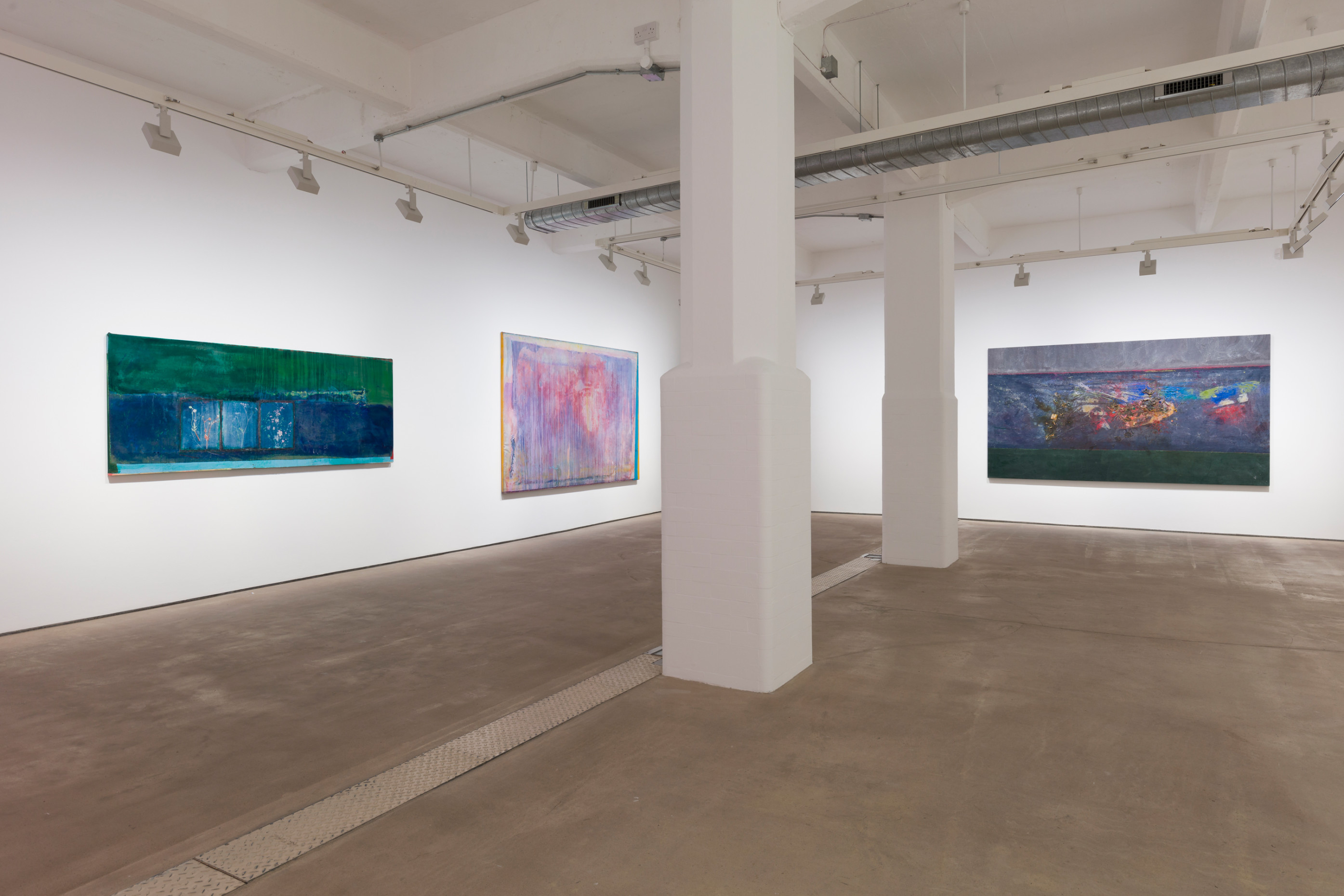 Installation view 'More Land than Landscape', Hales London, 10 May - 22 June 2019
