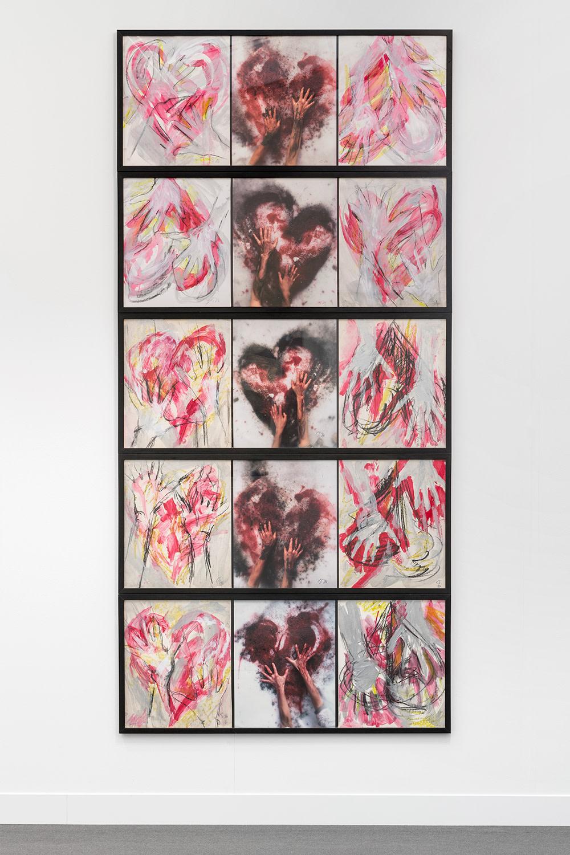 Hand-Heart for Ana Mendieta, 1986