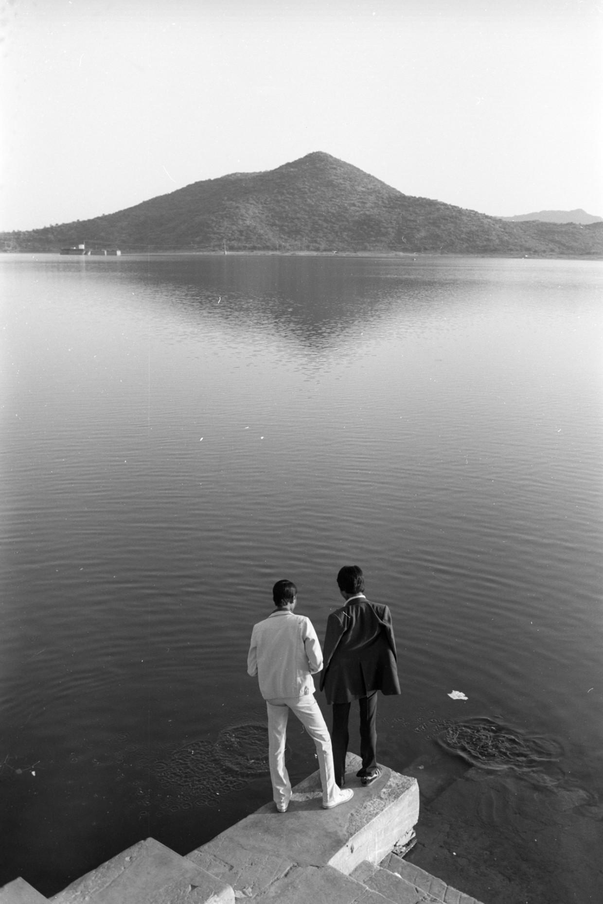 Lake Pichola, Udaipur, 1983