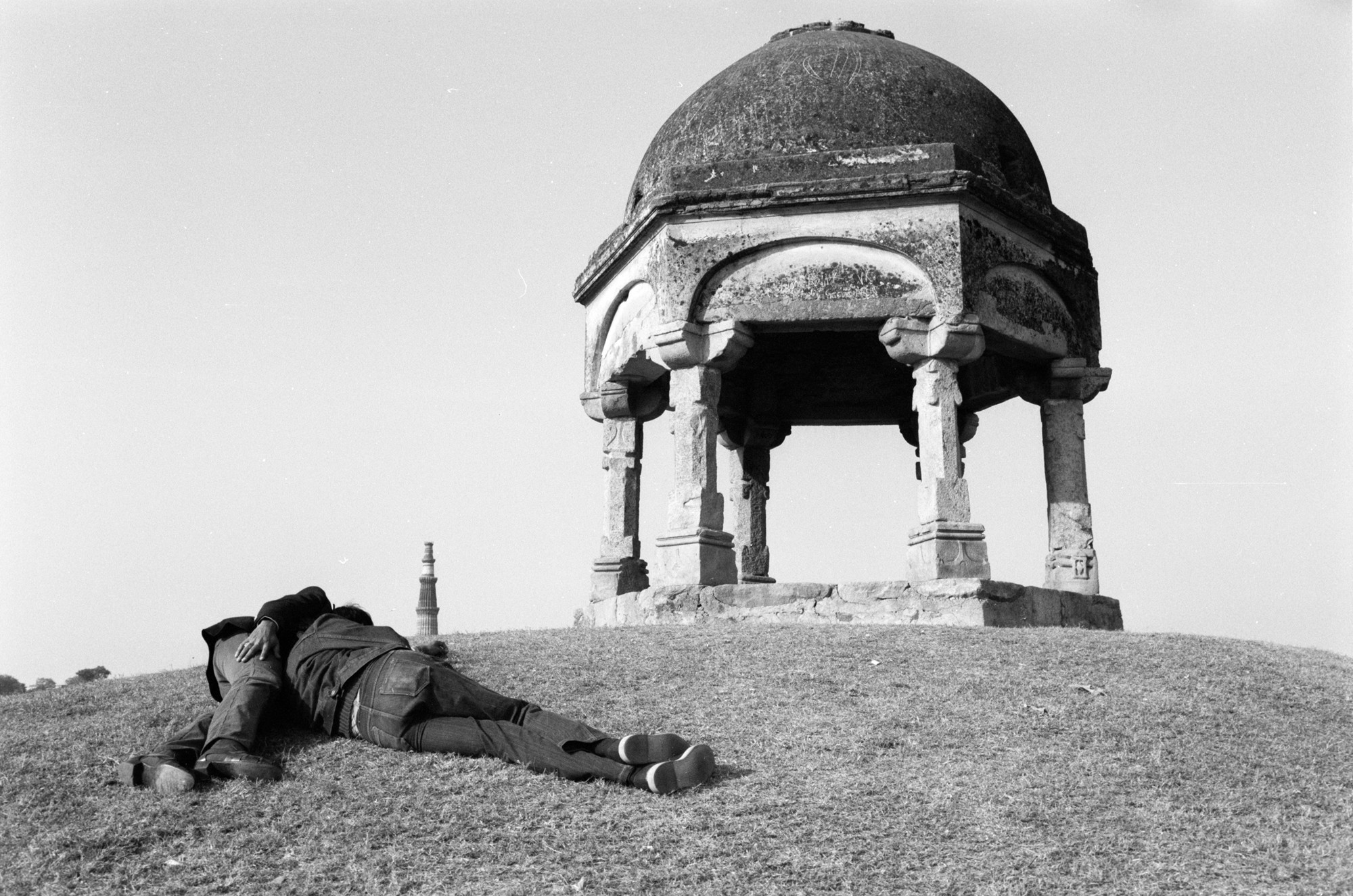 Untitled, Qutub Minar, 1983
