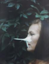 Birgit Jürgenssen Ohne Titel / Untitled, 1995 Signed & dated 3D colour photograph 26.3 x 21.2 cm 10 3/8 x 8 3/8 ins