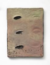 Erika Verzutti Cold and Medium, 2015 Bronze and acrylic 40 x 30 x 4 cm 15 3/4 x 11 3/4 x 1 5/8 ins Unique