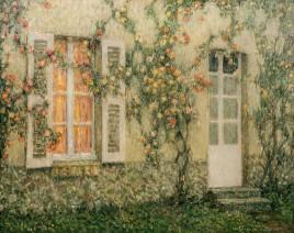 Henri Le Sidaner, La Maison aux roses, Versailles, c.1931 - 1936