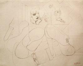 Edward Burra, The shoes, 1929-30